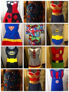 I'll admit it... I want a Nerd apron. Preferably Batgirl :)