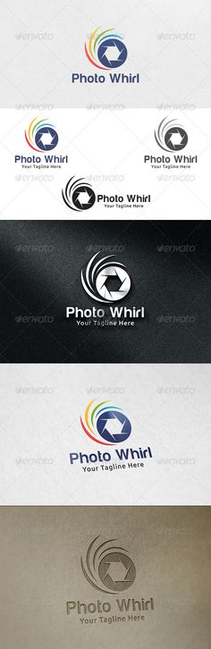 Photo Whirl  - Logo Design Template Vector #logotype Download it here: http://graphicriver.net/item/photo-whirl-logo-template/6485957?s_rank=1036?ref=nexion