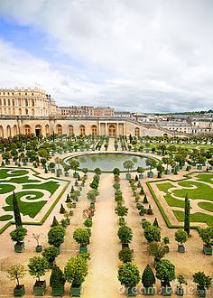 Versailles Palace and garden, France