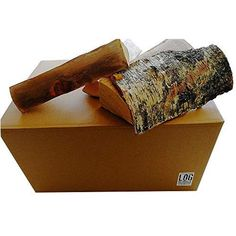 Fireplaces Pizza Ovens Birch Kiln-Dried Logs Fuel for Wood Stoves 30 x 40 Litre // 15kg Nets Camp Fires
