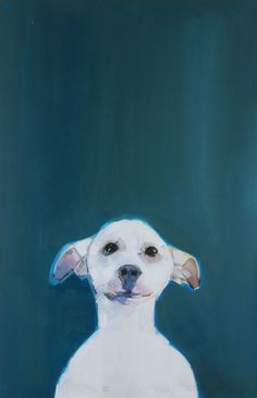 "Sally Muir, Artist, ""Naked Dog 6"""