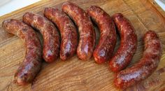 A recipe for an authentic Toulouse-style sausage, made with wild duck and goose plus pork fat. This Toulouse sausage is flavored with nutmeg, black pepper and fresh garlic. Goose Recipes, Duck Recipes, Meat Recipes, Cooking Recipes, Cooking Ham, Chorizo, Duck Sausage, Farmer Sausage, Gastronomia