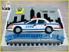 The NYPD RETIREMENT Cake by THE CAKE DON