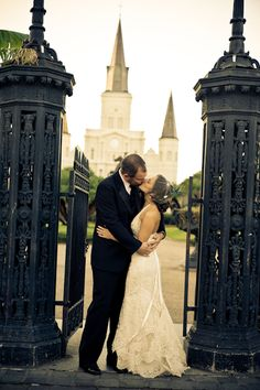 Real Weddings: Brandi & Jeremy's Intimate New Orleans Wedding