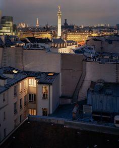 Sur Paris ©Alain Cornu
