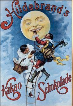 Hildebrand's Kakao Schokolade   30 Delicious Vintage Chocolate Posters Buzzfeed