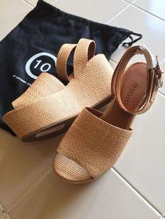 719c36fdb8e33 10 Crosby Derek Lam (women s 9.5 US) Tan Ankle Strap Sandals Platforms   fashion
