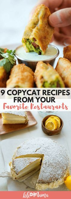 With the help of good people all over the internet, you can now make some of the most iconic items from your favorite restaurants from scratch, all on your own. No boxed mixes or frozen items needed. Just see for yourself! #copycatrecipes