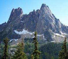 Liberty Bell Mountain (North Cascades National Park, Washington) by Mil M. Cascade National Park, North Cascades National Park, National Parks, Pacific Crest Trail, Pacific Northwest, Rocky Mountain National, National Forest, West Coast Trail, Mountain Pictures