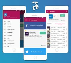 Facebook Twitter Downloader With Admob  Facebook Network ADS and Startapp Sdk 2018 (Full Applications)