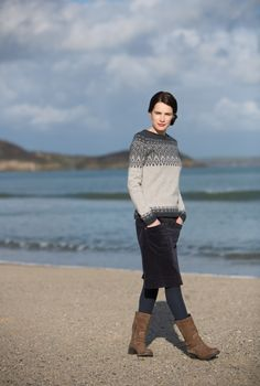 Trellis jumper by SeasaltCornwall.com