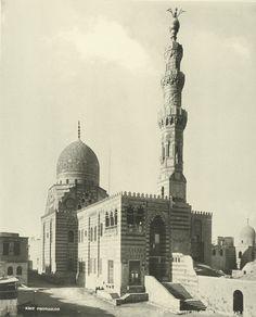 Tombs Chalifs, Kait Bay Mosque 1870