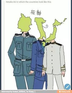 Hetalia c'mon I can't think straight when axis, allies, or when the name of a country that had been involved in ww2 comes up.