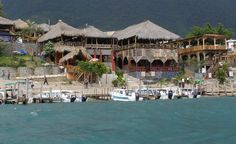 Panajachel, Guatemala - the cafes down by the lake. Best place to have a nice fried perch. A must while in Pana.