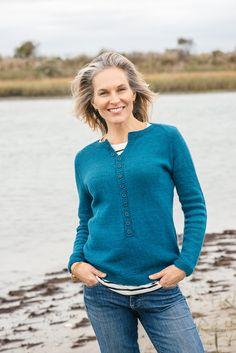 Gull Island by Kate Gagnon Osborn in The Fibre Co. Luma