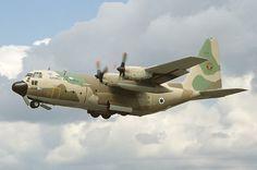 Lockheed C-130H Hercules (L-382) (Karnaf in Israeli service), of Israeli Air Force.