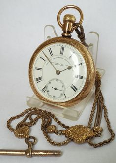 Sea Serpent Full Hunter Pocket Watch Watches, Parts & Accessories optional Engraving