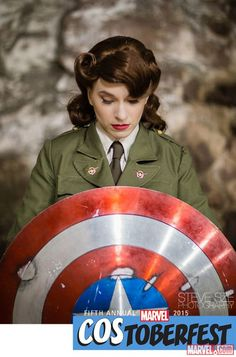 Costoberfest 2015: Most Decent Cosplay as Peggy Carter