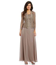 Ignite Evenings Sequin Lace Cape Dress More Cape Dress