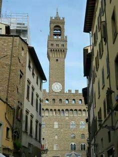 Clock tower of the Plazzo Vecchio