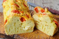 Plumcake al formaggio e pomodorini ricetta veloce