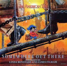 Linda Ronstadt, Tiger Song, James Ingram, An American Tail, Vinyl Record Collection, Steven Spielberg, Vintage Vinyl Records, Animation Film, Soundtrack
