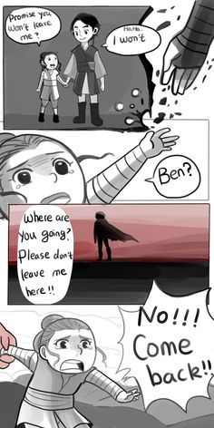 1ericayu1:  I read a star wars theory once, it says that Ben knows Rey, and he is the one who left Rey on Jakku.   ( ͡° ͜ʖ ͡°)  I love this theory, always want to draw something like this.