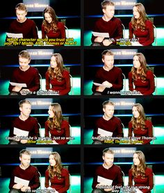 Kaya Scodelario and Will Poulter
