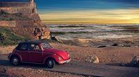 Excursão particular: excursão turística por Lisboa e Sintra em Fusca conversível #viagem #turismo