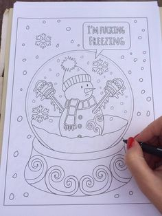 This Dirty Christmas Coloring Book Is The Perfect Gift For Adults With A Sense Of Humor