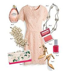 Romantic Rose Pattern Outfit | Everything is coming up roses with this charming look inspired by the romantic Johnson Brothers' Rose Chintz-Pink pattern (replacements.com) | SouthernLiving.com