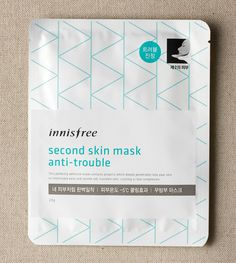 Second skin mask anti-trouble::A perfectly fitting mask made with propolis to soothe troubled skin