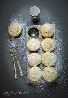 Fluffige Apfel-Walnuss-Buttermilch Muffins