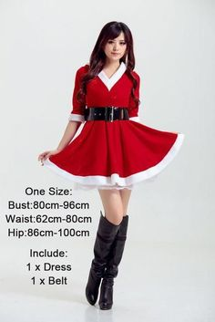 20 Styles Women Christmas Sexy Santa Claus Costumes Girl Christmas Velvet Dress Santa Claus Dress One Size Santa Claus Costume