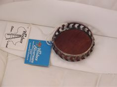 Vintage Silver plate cup holder by BunkysVintageCrafts on Etsy
