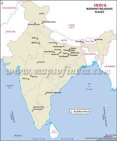 Buddhist Pilgrimage Locations of India