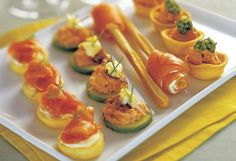 Regal Smoked Salmon with Mini Chive Pikelets