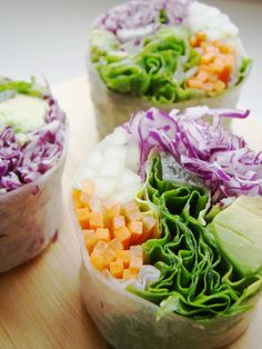 fresh veggie rolls