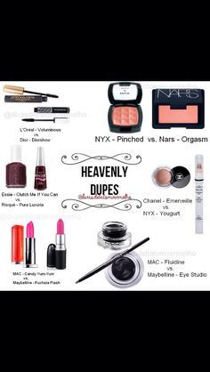 MAC Make Up Dupes
