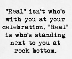 I love my 'real' people.