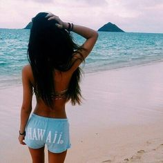 Image via We Heart It #art #beach #beautiful #beauty #bikini #body #brunette…