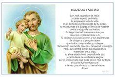 Imagen para imprimir de la oración para pedir una gracia a San José