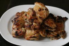 greek chicken thighs, will go great on my greek salads tonight