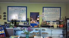 Sweet Cravings - on the north side of town, this cute shop offers breakfast and lunch deliciousness, including to-go items to stash for your boxed lunch. Really great salads and treats, a nice balance of fresh-baked yummy with whole-food goodness.