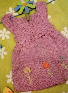 ༺ GizemliM ༻ Örgü Bebek Elbiseleri Modeli Anlatımlı - Bakimliyiz.Com