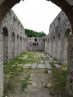 Butrint - yet another UNESCO site but in ALBANIA!