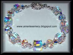 Swarovski Bracelet Handmade Jewelry Bracelets, Gems Jewelry, Wedding Jewelry, Gemstone Jewelry, Jewelery, Fine Jewelry, Handmade Jewellery, Swarovski Bracelet, Swarovski Jewelry