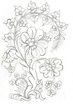 Excellent Screen dibujos para bordar Embroidery Designs Tips You are welcome to hand adornments! Embroidery can be quite a stress-free inventive electric outlet Embroidery Designs, Crewel Embroidery, Ribbon Embroidery, Machine Embroidery, Mexican Embroidery, Bordado Popular, Art Quilling, Coloring Book Pages, Folk Art