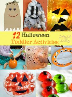 Fun Halloween toddler activities you have to try, my daughter had a great time stamping her own pumpkin, I love simple ideas that bring lots of fun. Halloween Activities For Toddlers, Halloween Science, Halloween Crafts For Kids, Autumn Activities, Craft Activities For Kids, Holidays Halloween, Toddler Activities, Holiday Crafts, Holiday Fun