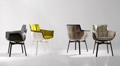 Stühle: HUSK - Kollektion: B&B Italia - Design: Patricia Urquiola